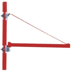 Βραχίονας παλάγκου βαρέος τύπου 75cm μέγιστο βάρος ανύψωσης 1000kg