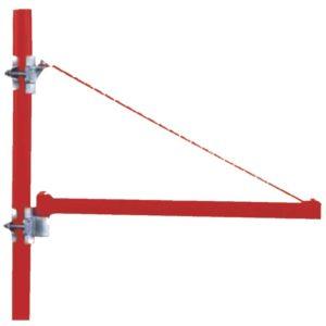 Βραχίονας παλάγκου τηλεσκοπικός 75-110cm μέγιστο βάρος ανύψωσης 600kg