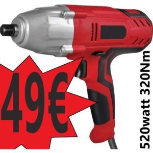 Ηλεκτρικό Μπουλονόκλειδο 520W