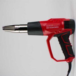 Πιστόλι θερμού αέρα με εξαρτήματα 2000w