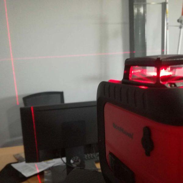 Αλφάδι σταυρού Laser 360ᵒ