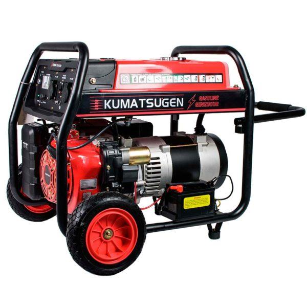 Γεννήτρια βενζίνης με ρόδες και μίζα 8.1kVA AVR - 16.0hp