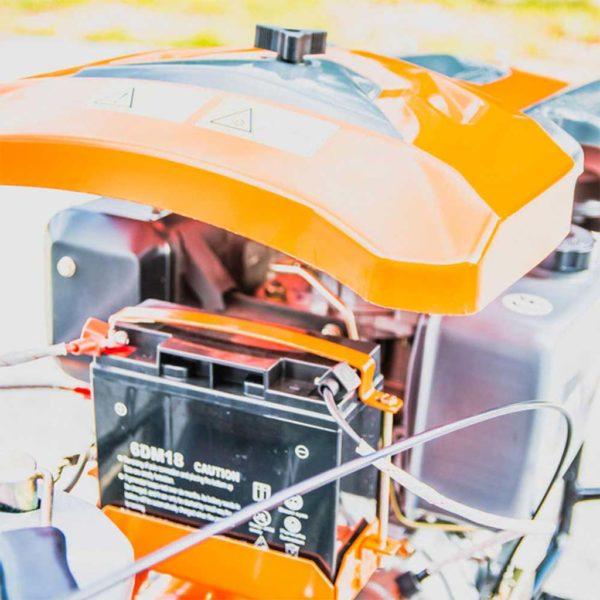 Σκαπτικό πετρελαίου με μίζα και φώτα 10.0hp