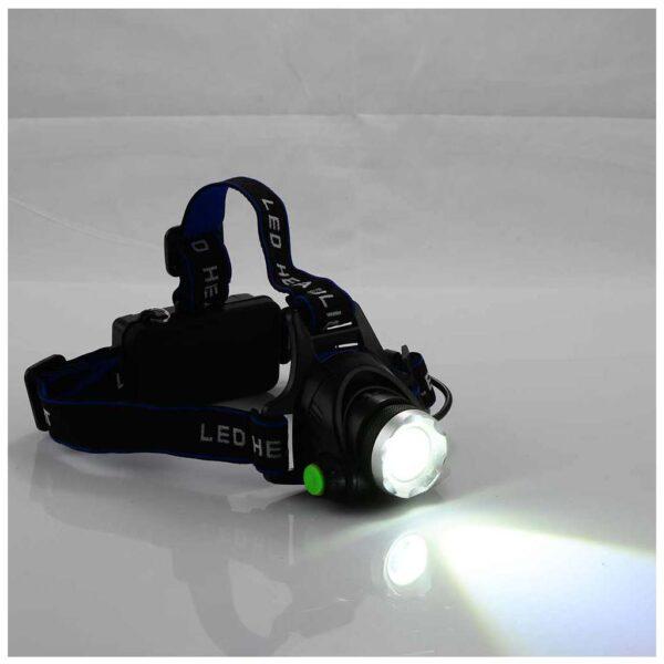Φακός Κεφαλής Επαναφορτιζόμενος LED - BORMANN BHL5500 022237