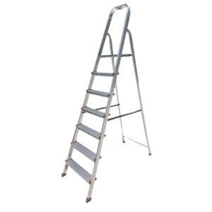 Σκάλα Αλουμινίου 5+1 Σκαλιών