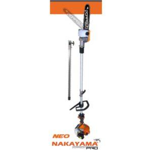 Κονταροπρίονο βενζίνης 1.1hp με Ρυθμιζόμενη σε κλίση κεφαλή 0-90º NAKAYAMA PS2800 022060