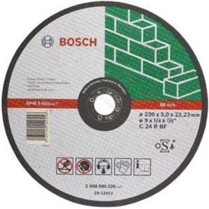 Δίσκος κοπής πέτρας 230mm - Bosch 2 608 600 326