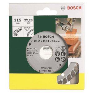 Διαμαντόδισκος κοπής Turbo Ø 115 mm - Bosch 2607019480