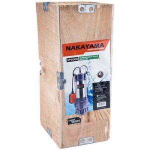 Ανλτία Ακάθαρτων INOX 750 watt NAKAYAMA SP2000 014898