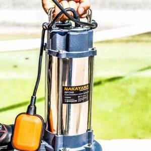 Αντλία Ακάθαρτων με Κοπτήρα 1300 watt NAKAYAMA SP1312 010944