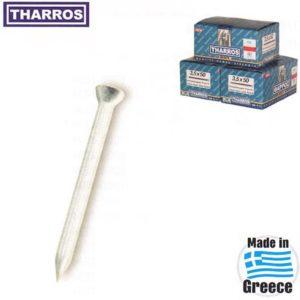 Ατσαλόκαρφα Μπετού Θάρρος 3,5 Χ 50 χιλιοστά - Tharros