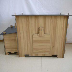 Κοτέτσι Ξύλινο - HPL - HIGH PRESSED LAMINATE - Domi 1135