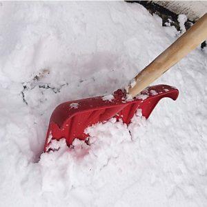 Πλαστικό φτυάρι χιονιού - DOMI 1148