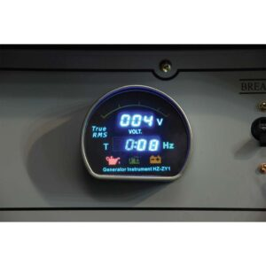 Γεννήτρια Πετρελαίου με ρόδες και μίζα 6.6kVA AVR - 10.5hp - KUMATSUGEN GP7000MP 012283
