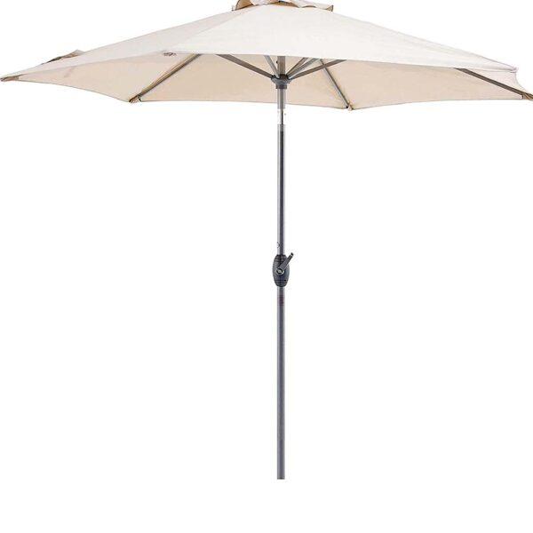 Ομπρέλα Δαπέδου Στρογγυλή με Στρόφαλο Διαμέτρου Ø3 μέτρα - BORMANN BSP1035 029854