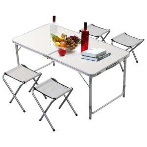 Σετ Τραπέζι Ρυθμιζόμενο σε Ύψος με 4 Σκαμπό - BORMANN BGS1000 026808