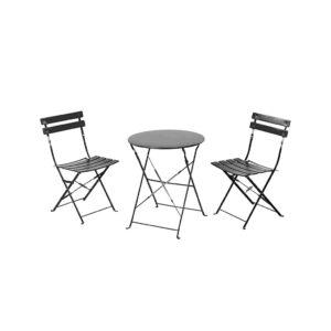 Σετ Τραπεζάκι & 2 Καρέκλες Μεταλλικά 3 τεμαχίων - BORMANN BSP1070 029922