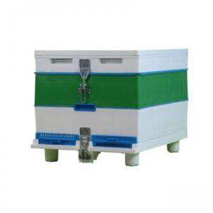 Κυψέλη Πλαστική Μονή με Πλαίσια LANGSTROTH TECHNOSET 1400