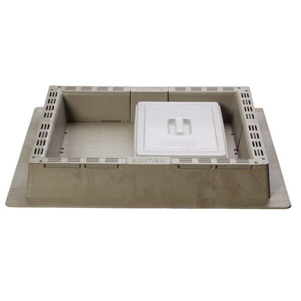 Τροφοδότης Οροφής PROFI 2 Χρήσεων με Διαφανές Καπάκι Αpimax 2180