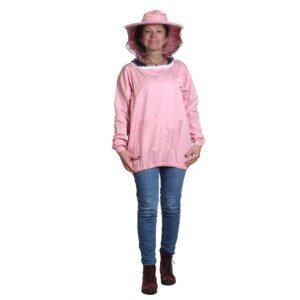 Γυναικεία Μελισσοκομική Μπλούζα με Μάσκα-Προσωπίδα Τούλι-Πανί Apimax 3840