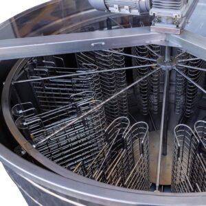 Ηλεκτρικός Μελιτοεξαγωγέας 20 Πλαισίων Αυτόματος Inverter FULL INOX Apimax 3640