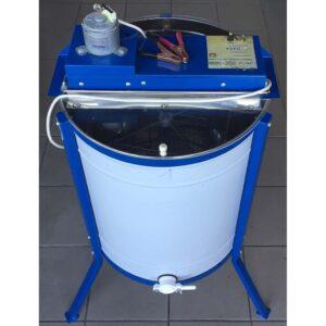 Ηλεκτρικός Μελιτοεξαγωγέας 4 Πλαισίων 12V Μονής Κατεύθυνσης INOX Apimax 3560