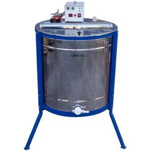 Ηλεκτρικός Μελιτοεξαγωγέας 6 Πλαισίων Μονής Κατεύθυνσης INOX Apimax 3600
