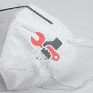 Μάσκα Προστασίας Προσώπου KN95 FFP2 3D Nano Facial Protective Mask - Συσκ. 10 Τεμ.