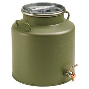 Ανοξείδωτο Δοχείο 15ltr με Αεροστεγές Πώμα 28BC-15G METALBOX Πράσινο 4540