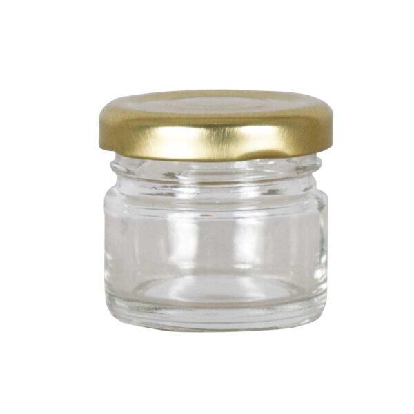 Βαζάκι Γυάλινο 30ml με Καπάκι Συσκευασία 1 τεμάχιου Apimax 4190