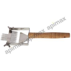 Διπλή Πιρούνα Απολεπισμού Νέου Τύπου Inox Ρυθμιζόμενη Apimax 5030