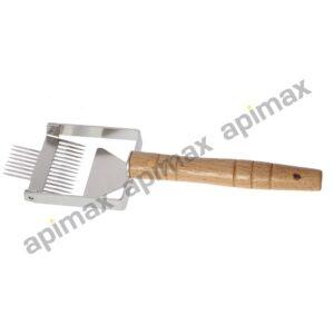 Διπλή Πιρούνα Απολεπισμού Νέου Τύπου Inox Apimax 5020