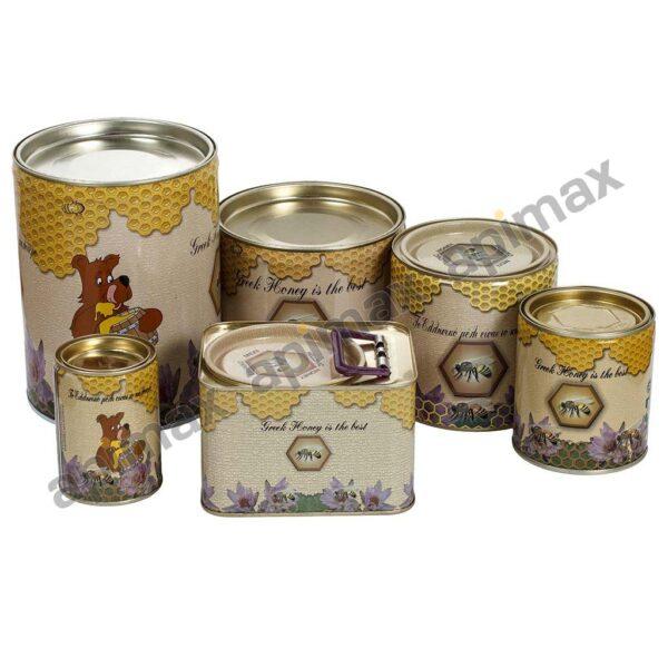 Δοχείο Μελιού Στρόγγυλο 1/2kg Apimax 4370