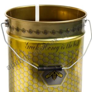Δοχείο Μελιού με Καπάκι & Τσέρκι 28 kgr Apimax 4460