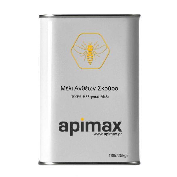 Μέλι Ανθέων Σκουρόχρωμο 18ltr/25kgr APIMAX 4760