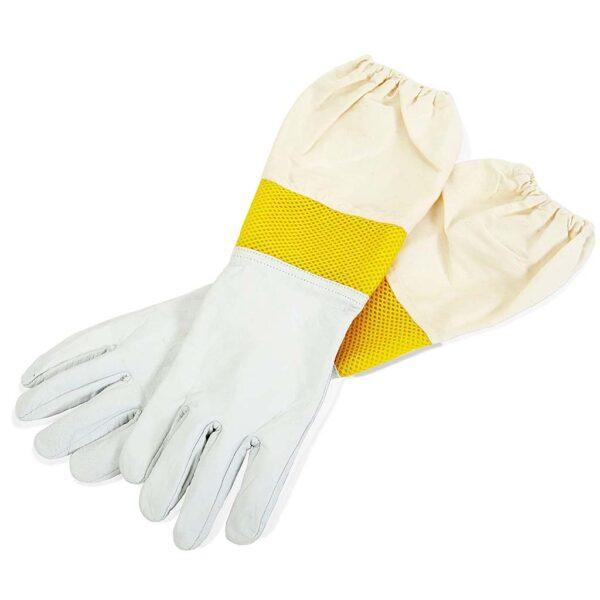 Μελισσοκομικά Δερμάτινα Γάντια Αεριζόμενα Apimax 5060