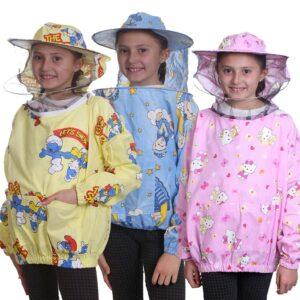 Παιδική Μελισσοκομική Μπλούζα με Μάσκα-Προσωπίδα με Παιδικά Σχέδια Apimax 3870