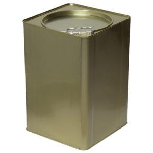 Συσκευασία 6 Τεμαχίων Τενεκές Δοχείο Μελιού Λαδιού & Τροφίμων (Μεγάλο Καπάκι) 25kg Apimax 4350