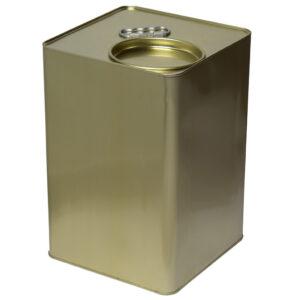 Συσκευασία 6 Τεμάχιων Τενεκές Δοχείο Μελιού Λαδιού & Τροφίμων (Μικρό Καπάκι) 25kg Apimax 4330