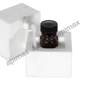 Φιαλίδιο Γυάλινο Βασιλικού Πολτού 10ml με Πώμα Ασφαλείας Apimax 4070
