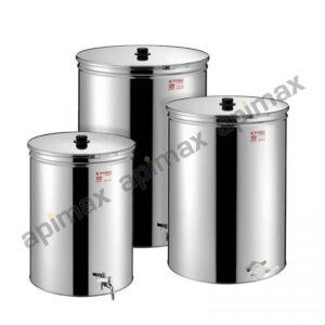 Metal Box Ανοξείδωτο Δοχείο ΙΝΟΧ Μελιού 50ltr-70kgr με Κάνουλα 38ABM-50 STARBOX 5090