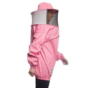 Γυναικεία Μελισσοκομική Μπλούζα με Μάσκα-Προσωπίδα CARGO Apimax Ροζ Apimax 3845