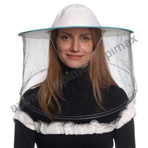 Μελισσοκομικό Καπέλο Μάσκα-Προσωπίδα ECO One Size Apimax Εκρού 3837
