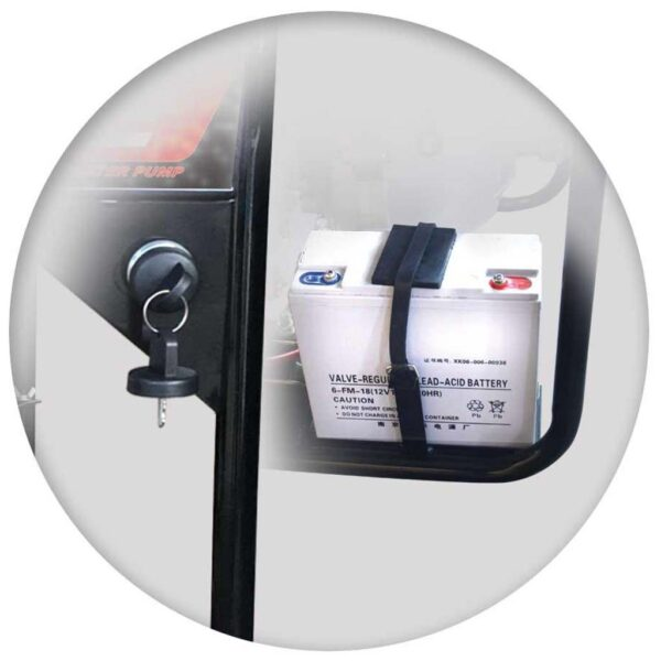 Πετρελαιοαντλίες Νερού Υψηλής Πίεσης - Πυρόσβεσης με Μίζα & Μπαταρία 10.0 hp MIYAKE LDP 30HE2 203327