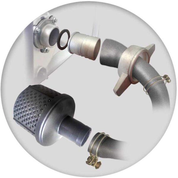 Πετρελαιοαντλίες Νερού Υψηλής Πίεσης - Πυρόσβεσης με Μίζα & Μπαταρία 7.0 hp MIYAKE LDP 20HE2 203326