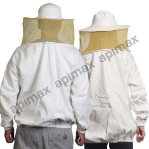 Unisex Μελισσοκομική Μπλούζα με Μάσκα-Προσωπίδα CARGO Apimax Εκρού 3847