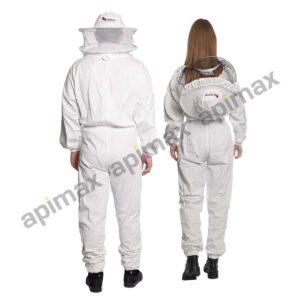 Unisex Μελισσοκομική Ολόσωμη Φόρμα με Μάσκα/Καπέλο Apimax 3848