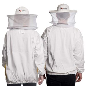 Unisex Μελισσοκομικό Μπουφάν με Μάσκα-Προσωπίδα Τούλι-Τούλι Apimax 3921